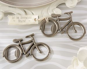 'Let's Go On an Adventure' Bicycle Bottle Opener - wedding favours