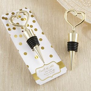 'Heart of Gold' Bottle Stopper - 50th anniversary: gold