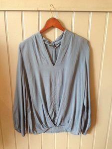 Blue Tamzin Blouse - blouses & shirts