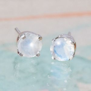 Iva Sterling Silver Birthstone Earrings