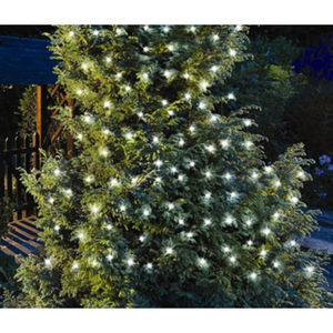200 LED Solar White String Lights - lighting
