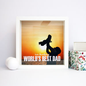 Personalised Fathers Day Box Print - new in prints & art