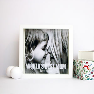 Personalised Mothers Day Box Print - whatsnew