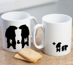 Family Bear Mug - mugs
