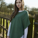 Reversible Poncho Spring Colours