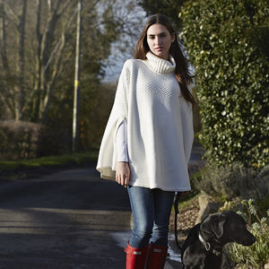 50% Off Cape Poncho - cosy casuals