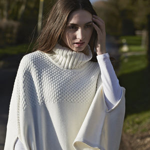 Cape Poncho - contemporary women's fashion