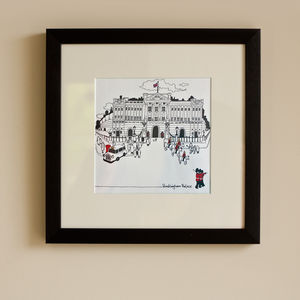 Framed Print Of Buckingham Palace - whatsnew