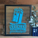 Doctor Who Quote Papercut