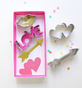 Hearts And Arrows Cookie Cutters