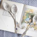 Personalised Birthstone New Baby Spoon