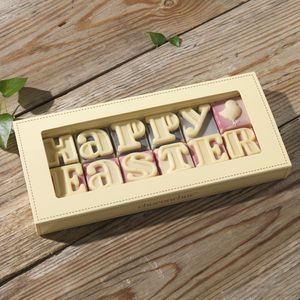 'Happy Easter' Chocolate Message - view all easter