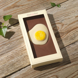 Chocolate Fried Egg - children's easter