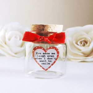 Love Message Inside Bottle - decorative accessories
