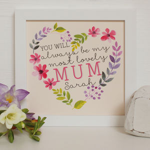 Personalised Always My…Mothers Day Framed Print
