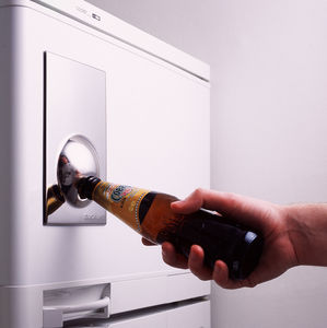 Bottle Opener Fridge Magnet - kitchen accessories