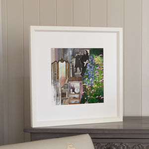 The Willow Patterned Jug, Framed Print - shop by price