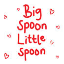 Big Spoon Little Spoon Card