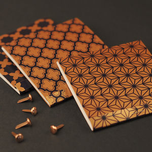 Moroccan Copper Pocket Jotter Notebooks
