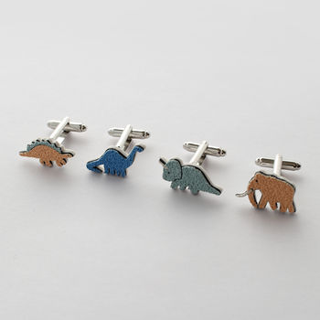 Dinosaur Cufflinks More Colours Available