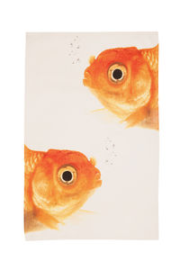 Siamese Goldfish Tea Towel