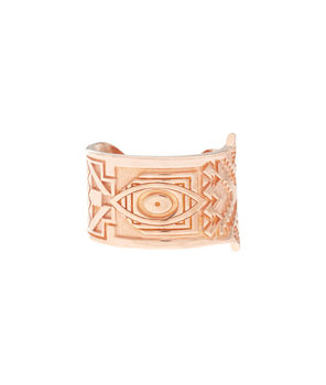 Rose Gold Vermeil Hamsa Ring