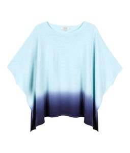 Dip Dye Poncho - jumpers & cardigans