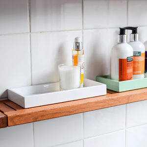 Mini Lacquer Bathroom Kitchen Tray