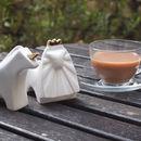 Tea Rules The World Sugar Bowl And Creamer