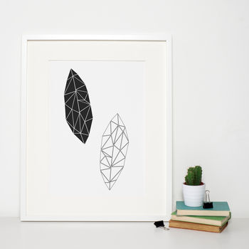 Geometric Leaves