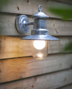 Porthmeor Porch Light - electric lighting