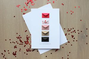 Personalised I Love You Because Card