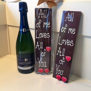 'All Of Me Loves All Of You' Belgian Chocolate - food & drink sale