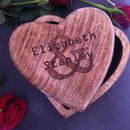 Personalised Valentine's Day Heart Gift Box