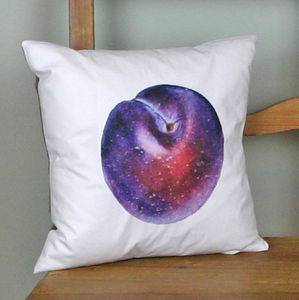 Botanical Cushion 'Plum'