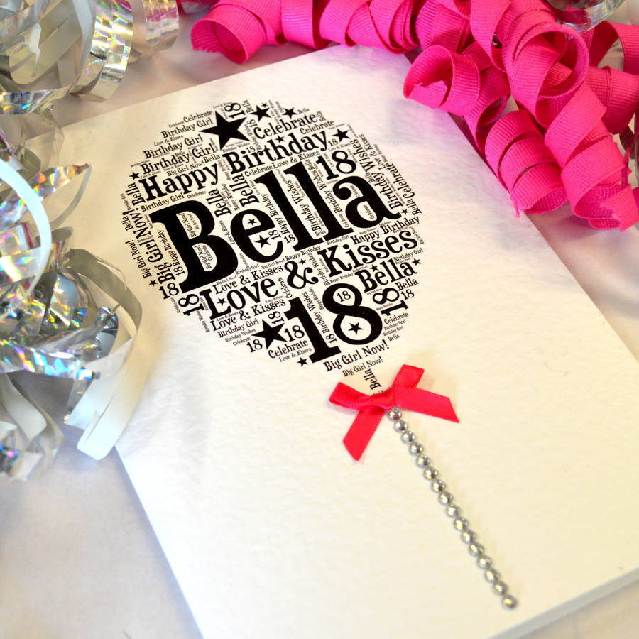 Card Making Ideas 21st Birthday Part - 23: Personalised 21st Birthday Card