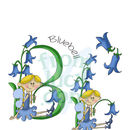 Personalised 'Fairy Alphabet' Print Letter Example