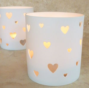 'With Love' Tealight Holder