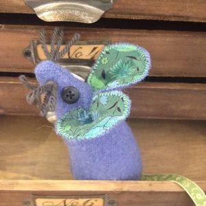 Woollen Lavender Mouse