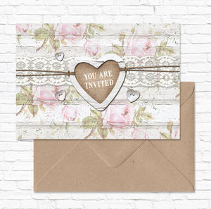 Wedding Stationery Collection 'Cape Cottage' - wedding stationery