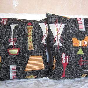 50's Style Mambo Cushion Cover - bedroom
