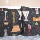 50's Style Mambo Cushion Cover