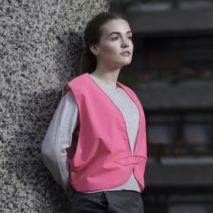 Reflective Hi Vis Vest - women's fashion
