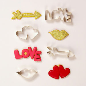 Hearts And Arrows Cookie Cutters - gifts for him