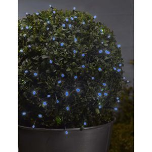 100 LED Battery Blue String Lights - outdoor decorations