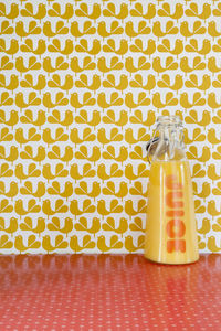 Yellow Woodstock Wallpaper - baby's room