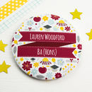 Personalised Graduation Pocket Mirror