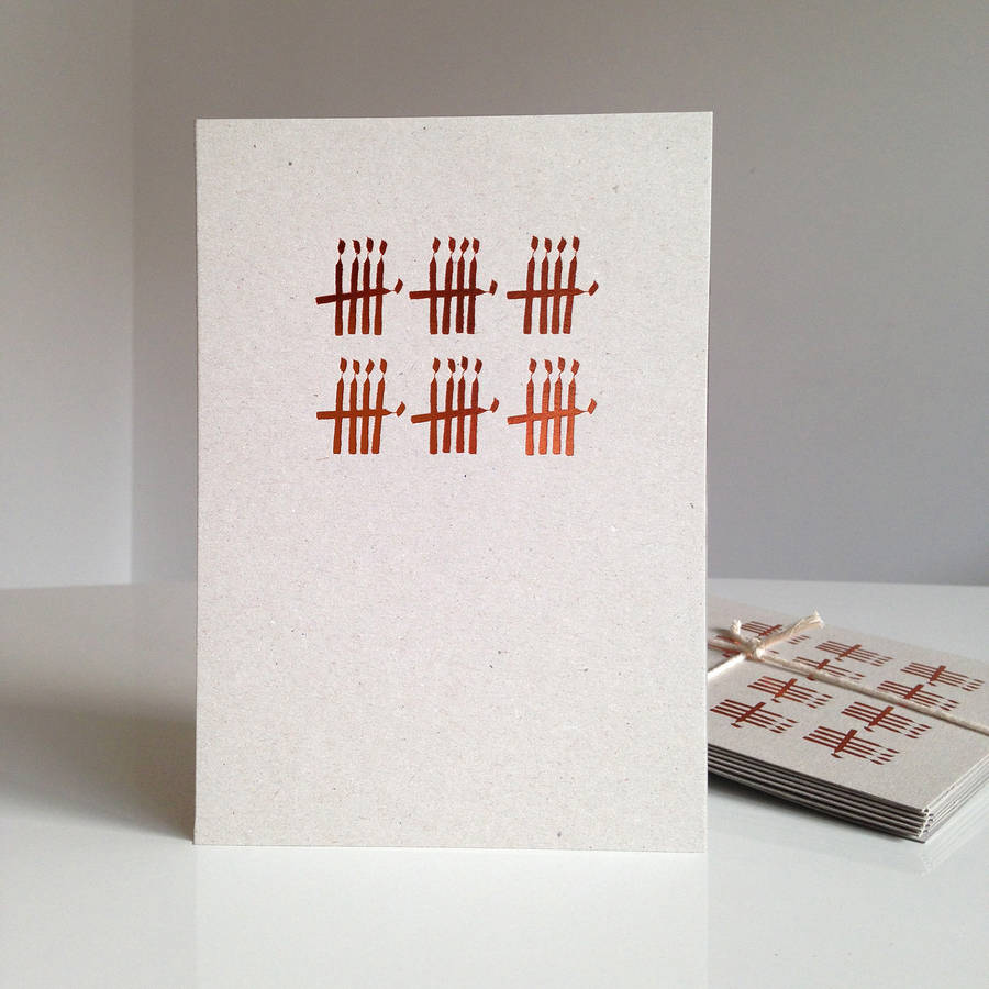 30th birthday card with copper foiled candles by purpose for 70 geburtstag ideen