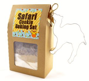 Safari Baking Set - biscuits and cookies