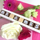 Personalised Chocolates For Wedding Favours